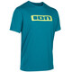 ION Logo T-Shirt Men blue/teal